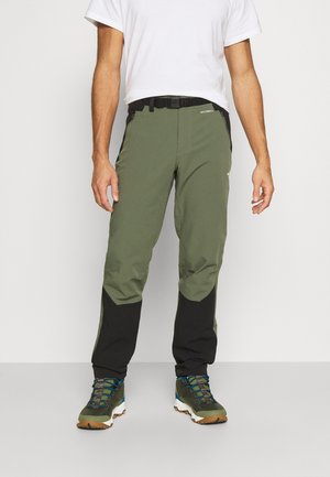 MEN'S DIABLO II PANT - Friluftsbukser - thyme/black