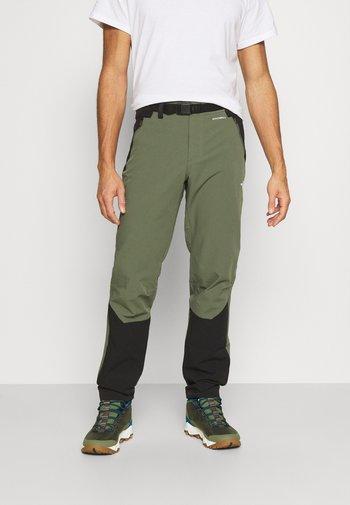 MEN'S DIABLO II PANT - Outdoorové kalhoty - thyme/black