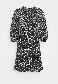 Closet - PUFF SLEEVE DRESS - Day dress - black - 3