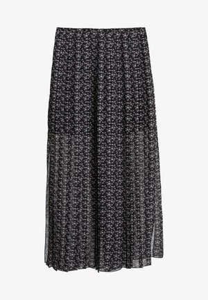 Maxi skirt - black /white