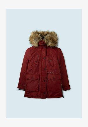 ISABELLE - Winter coat - johannisbeere