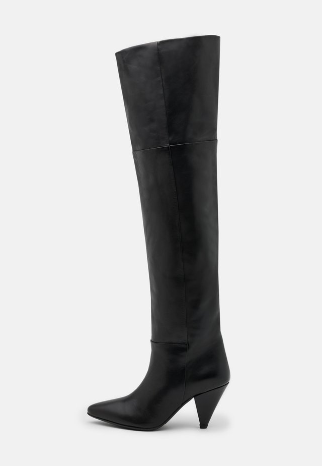MYRASSA BOOT KNEE 7556 - Over-the-knee boots - black