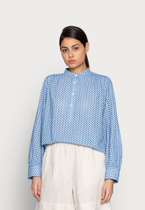 Košile - offwhite/blue