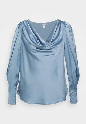 SAPPHIRE COWL NECK - Blouse - blue