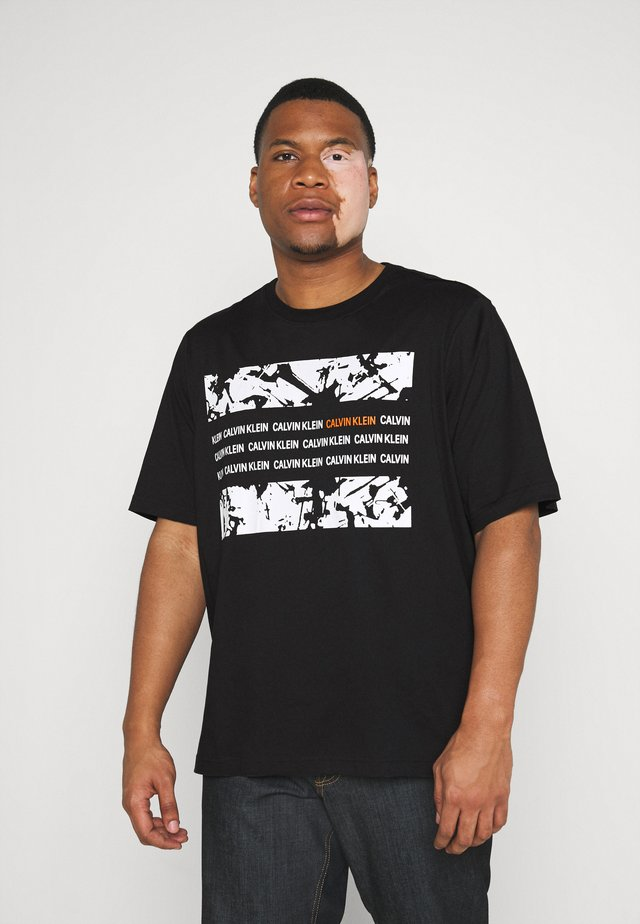 GRAPHIC BOX  - Print T-shirt - black