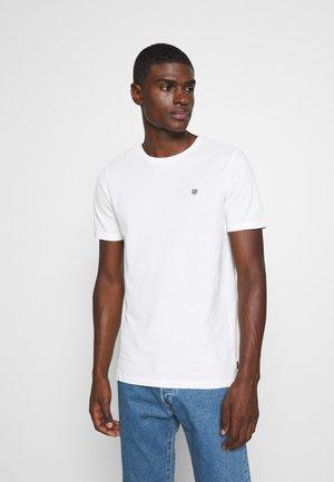 JPRBLAHARDY TEE CREW NECK - Basic T-shirt - blanc de blanc