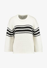 Vila - Jumper - whisper white/black - 3