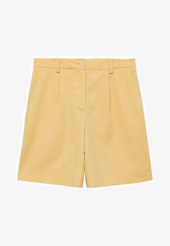 Shorts - pastel yellow