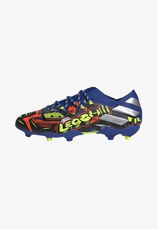 NEMEZIZ MESSI 19.1 FIRM GROUND BOOTS - Scarpe da calcetto con tacchetti - blue
