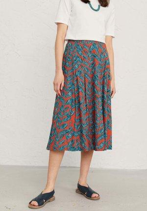 SEA MIST - A-line skirt - orange
