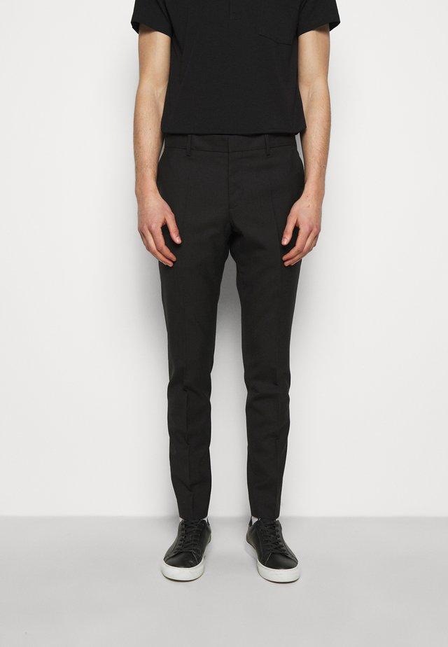 LIAM TROUSER - Kalhoty - black