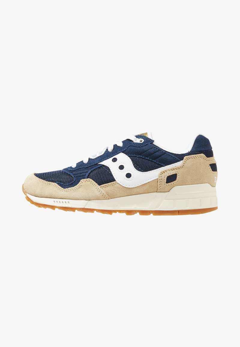 Saucony - SHADOW DUMMY - Sneakers basse - tan/navy/white