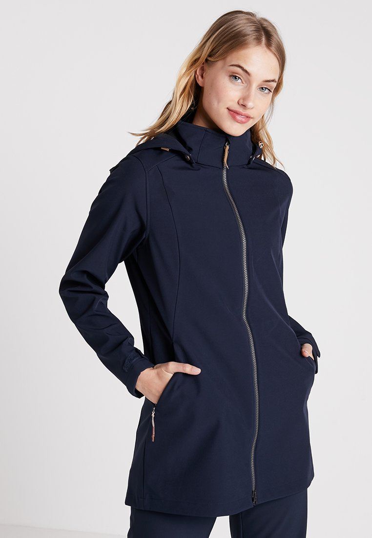 Icepeak - ALEXIS - Short coat - dark blue