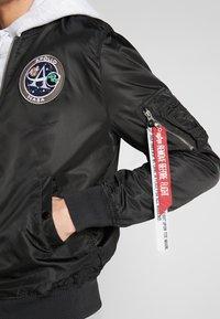 Alpha Industries - Bomber Jacket - black - 3