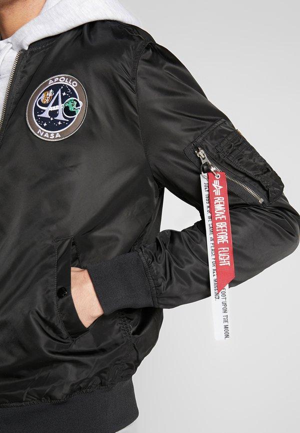 Alpha Industries Kurtka Bomber - black/czarny Odzież Męska BFPM