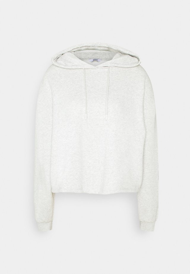 MONROE HOODIE - Sweater - light grey mel