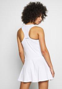 Diadora - COURT - Jersey dress - optical white - 2