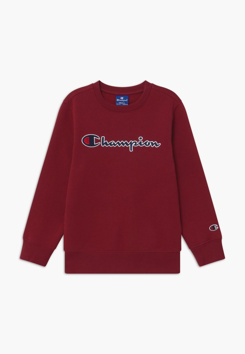 Champion - ROCHESTER CHAMPION LOGO CREWNECK - Sweatshirt - bordeaux