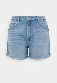 ONLY Carmakoma - CARFREYA LIFE - Shorts di jeans - light blue denim - 0
