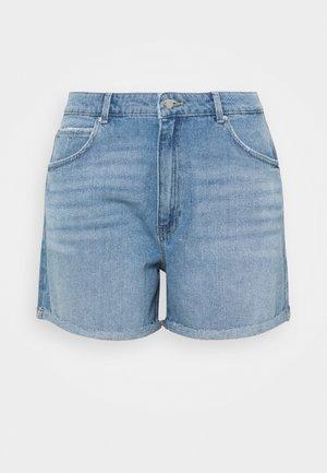 CARFREYA LIFE - Shorts di jeans - light blue denim