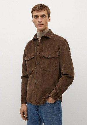 BUDOR - Shirt - braun