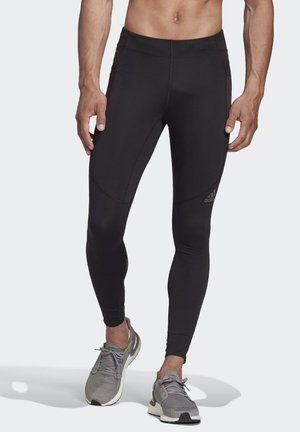 SATURDAY SUPERNOVA FITTED LEGGINGS RUNNING - Legginsy - black