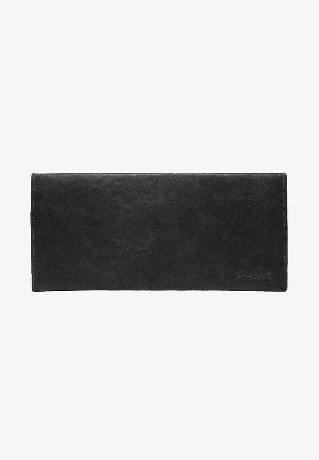 JUST BLACK - SILVER XL - Portemonnee - schwarz  silber