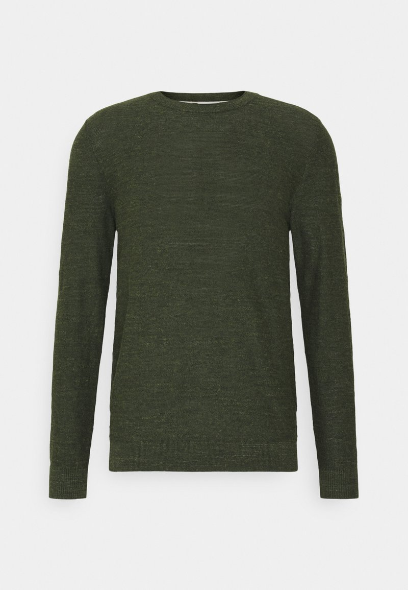 Selected Homme - SLHBUDDY CREW NECK - Jumper - rosin/uneven budding yarn