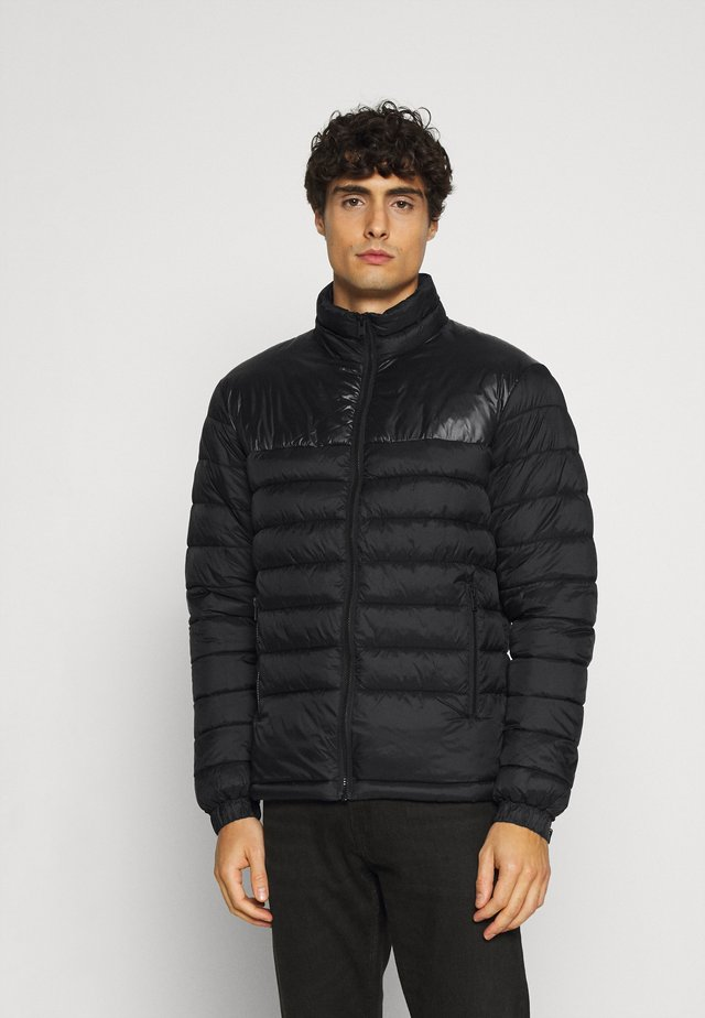 SLHNATHAN PUFFER - Light jacket - black