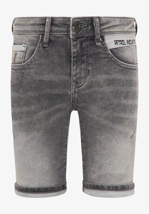 Denim shorts - black stone