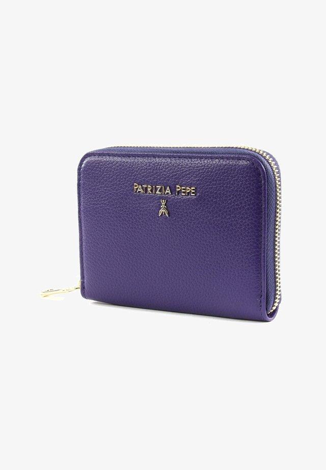 Wallet - dark street violet