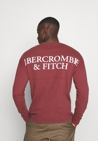 Abercrombie & Fitch - EXPLODED - Long sleeved top - burg - 2