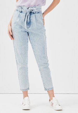 PAPIERTÜTEN - Relaxed fit jeans - denim bleach