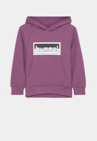 Hummel - MONO HOODIE UNISEX - Hoodie - chinese violet - 0