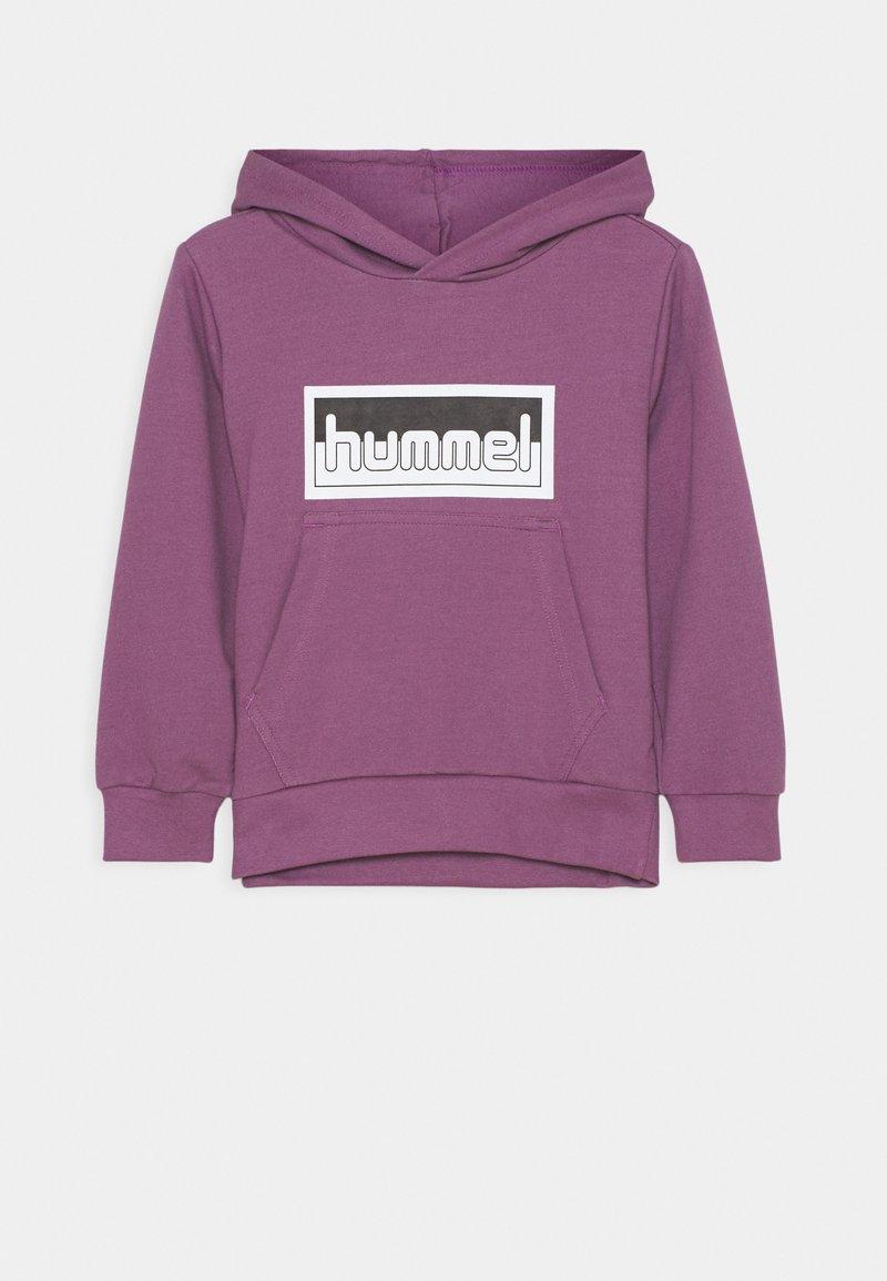 Hummel - MONO HOODIE UNISEX - Hoodie - chinese violet