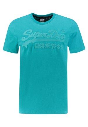 Print T-shirt - blau (296)
