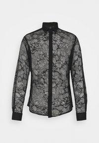 Twisted Tailor - KONA SHIRT - Camisa - black - 4