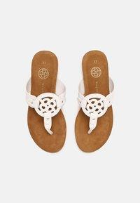 Bugatti - JASMIN - T-bar sandals - white - 4