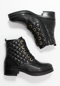 Anna Field - LEATHER - Winter boots - black - 3