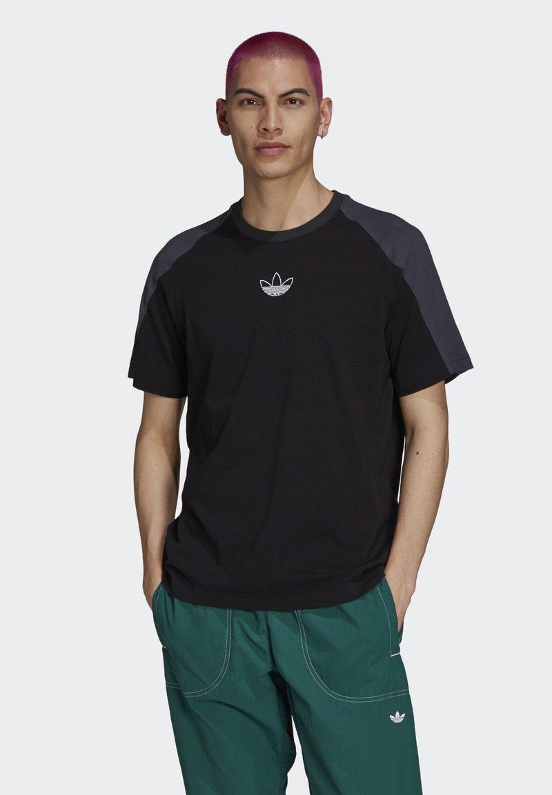 adidas Originals - ARCHIVE - T-shirt con stampa - black