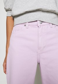 Monki - YOKO - Straight leg jeans - lilac purple light - 5