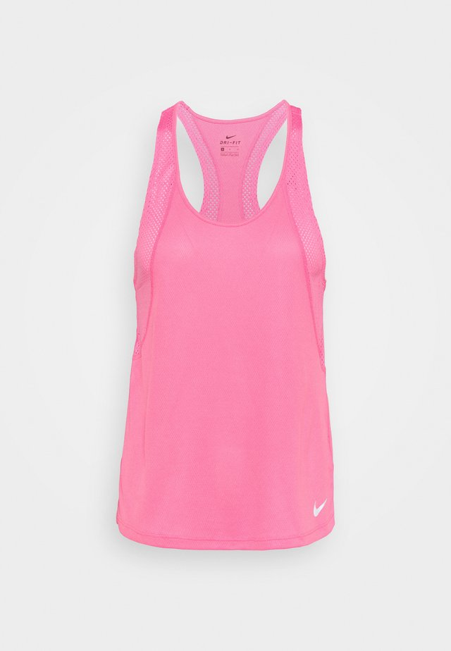 RUN - Sports shirt - pink glow