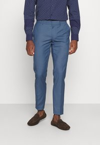Isaac Dewhirst - THE FASHION SUIT NOTCH - Puku - blue - 4