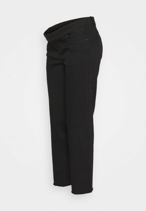 MLMARBELLA RAW EDGE COMFY  - Jeans Relaxed Fit - black denim