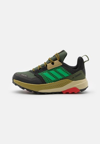 TERREX TRAILMAKER R.RDY UNISEX - Hiking shoes - wild pine/vivid green/vivid red