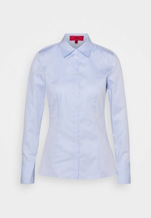 THE FITTED - Camicetta - light pastel blue