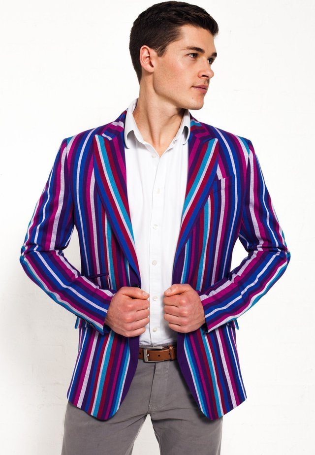 KAMBA - Blazer jacket - purple
