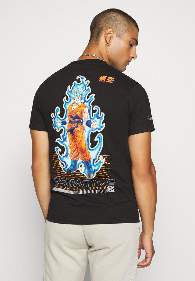 SSGB GOKU TEE - T-shirt print - black