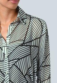 Alba Moda - Button-down blouse - weiß,schwarz - 3