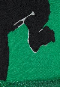 Diane von Furstenberg - DEXA SWEATER - Neule - black/green - 2